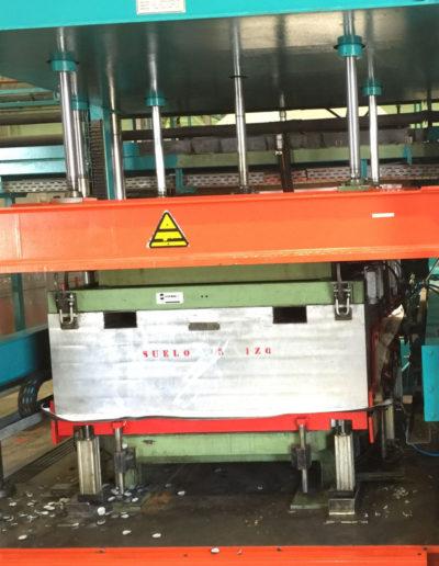 Prensas verticales hidráulicas. Líneas productivas