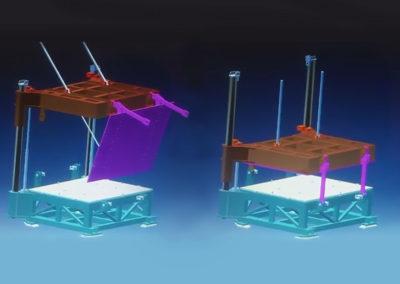 Proyecto portamoldes de conformado diseño 3D