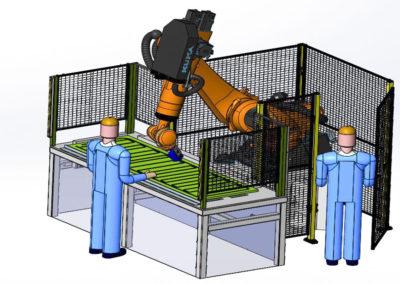 Dibujo 3D instalacion