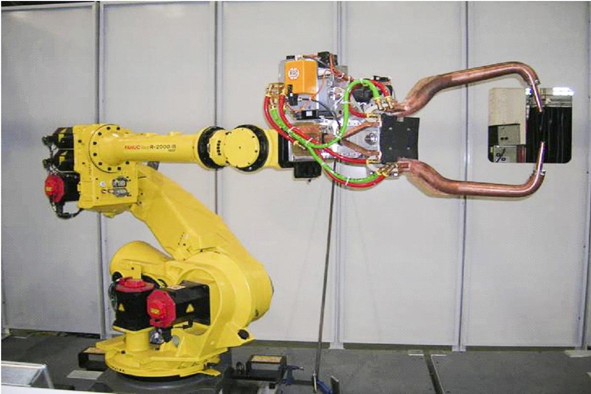 Robot para soldadura de puntos