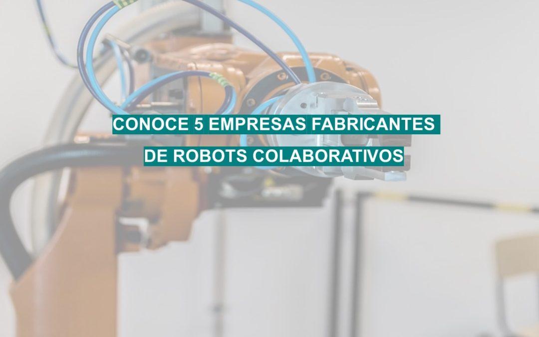 5 grandes fabricantes de robots colaborativos