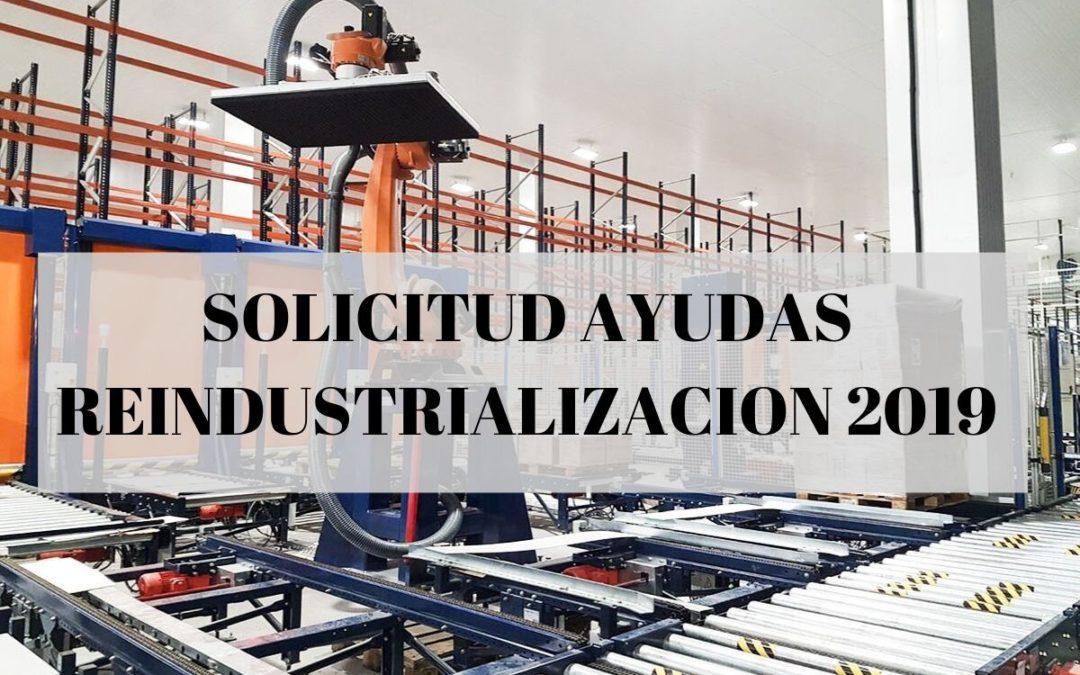 Ayudas públicas Reindustrializacion 2019
