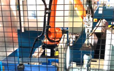 Célula Robotizada para alimentación automática