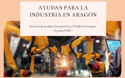 Ayudas para la Industria en Aragón (PAIP)