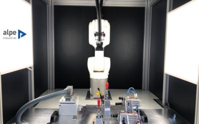 Verificación de pieza: Robot y Visión Artificial